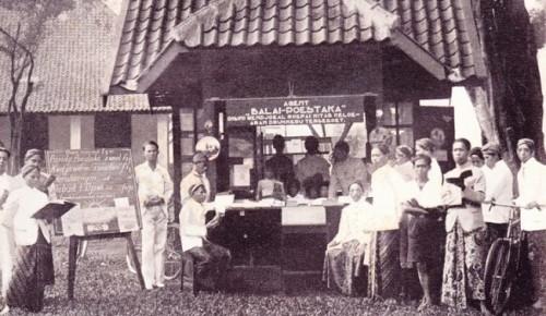 Agen buku Balai Poestaka 1920. (Istimewa)