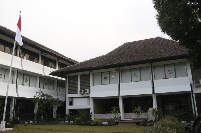 Gedung Balai Pustaka, Matraman, Jakarta Timur. (MI)