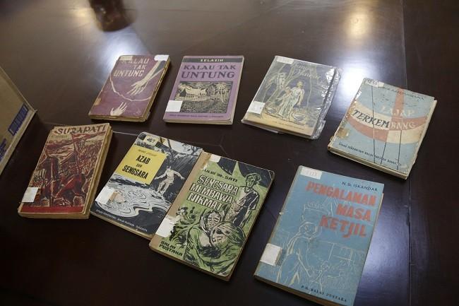 Koleksi lawas buku terbitan Balai Pustaka. (MI)