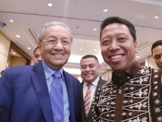 Rommy Bersyukur Bisa Berguru Langsung Kepada Mahathir