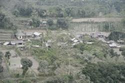 Pengungsi di Lereng Gunung Agung Berangsur Pulang