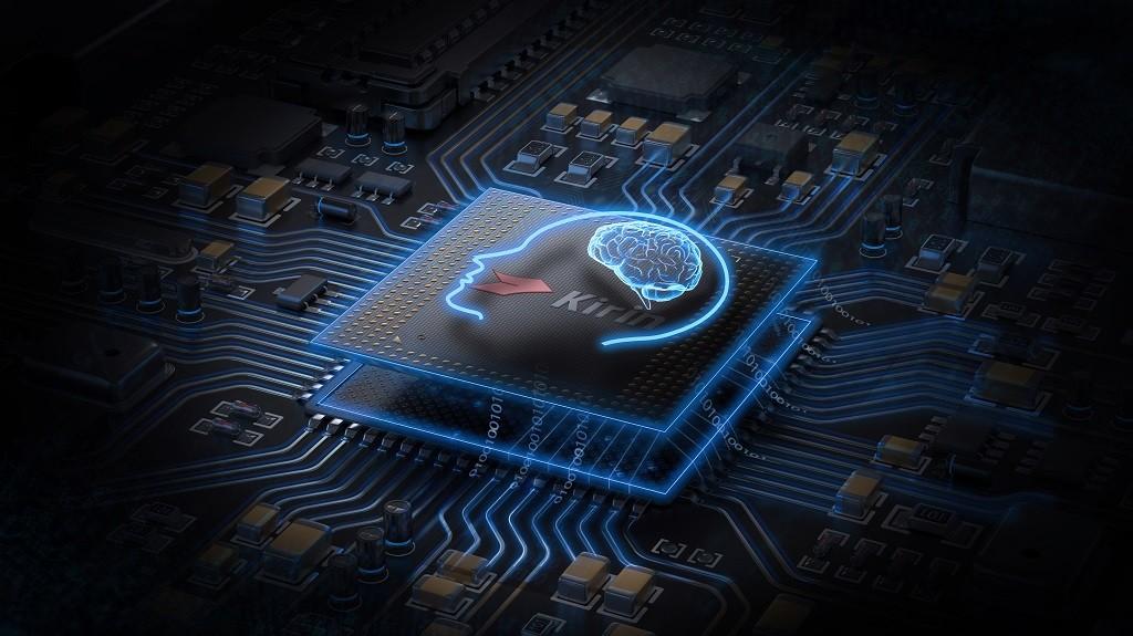 Prosesor Kirin  buatan Huawei yang mengunggulkan teknologi kecerdasan buatan.