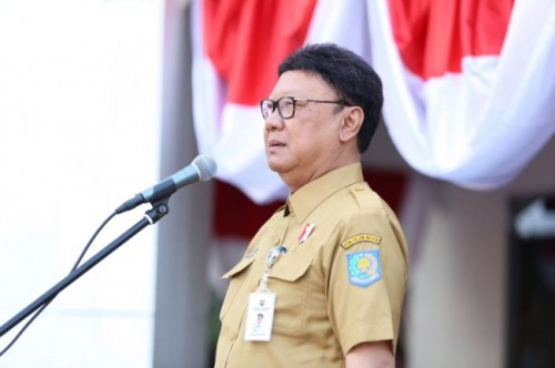 Menteri Dalam Negeri Tjahjo Kumolo--Medcom.id/M Sholahadhin