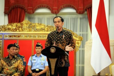 Jokowi Minta BI Jaga Inflasi dan Nilai Tukar Rupiah