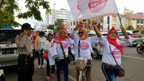 Relawan Kolom Kosong Makassar