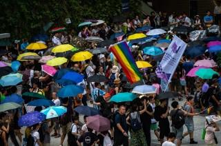 Protes Pro Demokrasi di Hong Kong Meredup