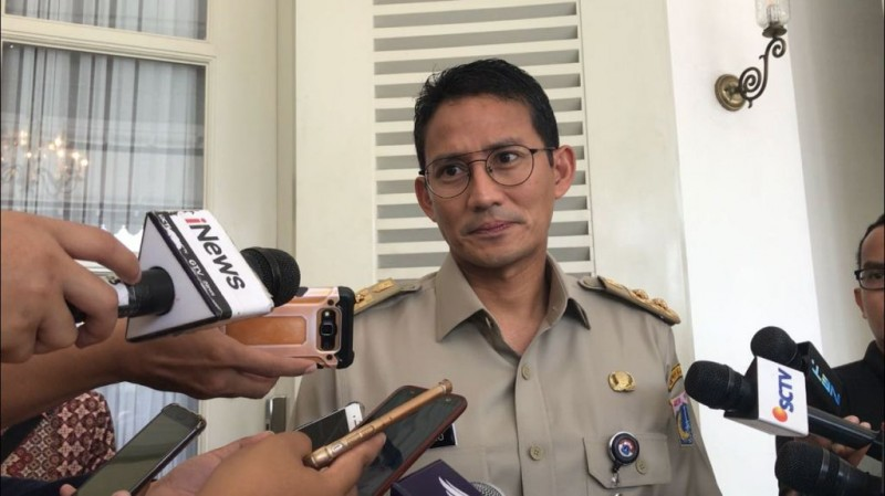Wakil Gubernur DKI Jakarta Sandiaga Uno - Medcom.id Siti Yona Hukmana