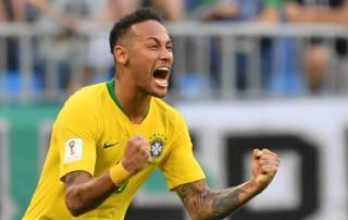Ejekan Neymar untuk Meksiko