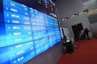 JCI Down 1.45 Percent in First Session
