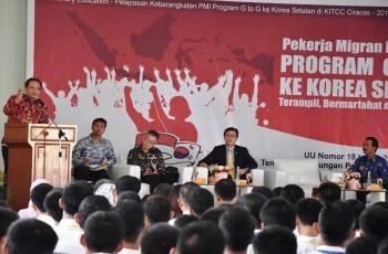 BNP2TKI Berangkatkan 382 PMI ke Korea Selatan