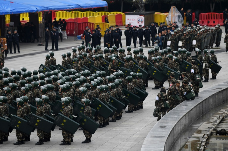 The weapon is 'mainly expected to be for Chinese police use' (Photo:AFP/Greg Baker)