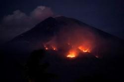 Aktivitas Gunung Agung Belum Stabil