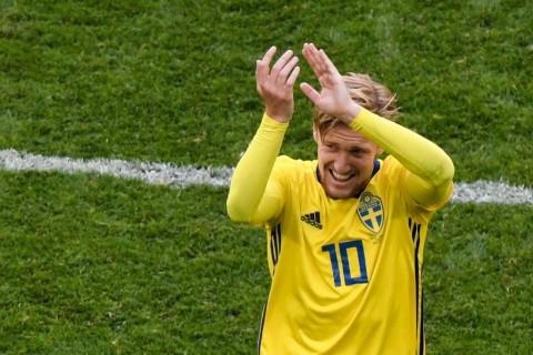 Bintang Laga: Forsberg, Winger Efektif Swedia