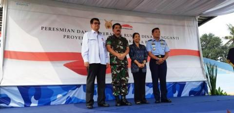 TNI Punya Rumah Dinas Baru