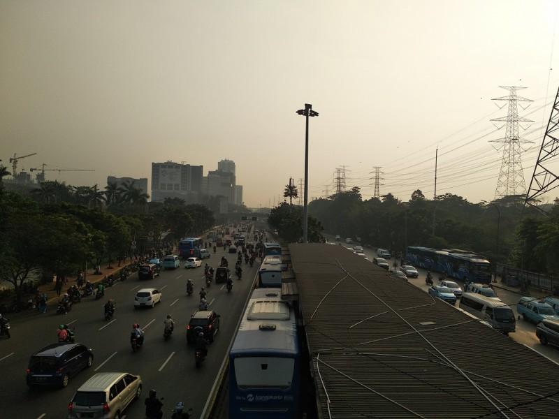Jalan MT Haryono lancar - Medcom.id/Muhammad Al Hasan.