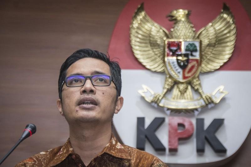 Juru bicara KPK Febri Diansyah - ANT/Aprillio Akbar.