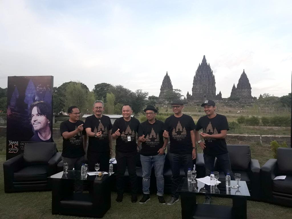 Jumpa pers Prambanan Orchestra (Foto:: medcom/elang)