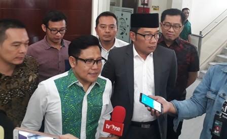 Calon Gubernur Jawa Barat Ridwan Kamil Ridwan Kamil mengunjungi