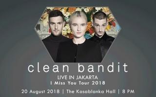 Tiket Prajual Konser Clean Bandit di Indonesia Hampir Habis