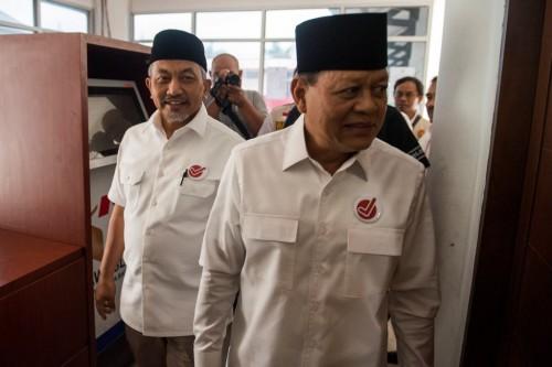 Pasangan calon Gubernur dan Wakil Gubernur Jawa Barat Sudrajat