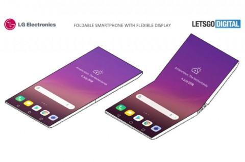 LG dikabarkan tengah mengembangkan ponsel berdesain lipat yang