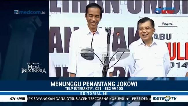 Menunggu Penantang Jokowi