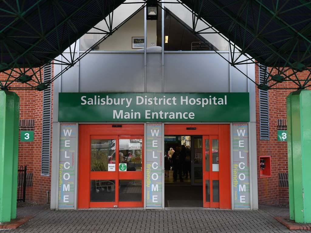 Rumah sakit Salisbury, tempat dua warga dirawat. (Foto: AFP).