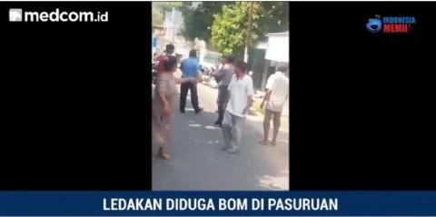 Ledakan Diduga Bom Terjadi di Pasuruan