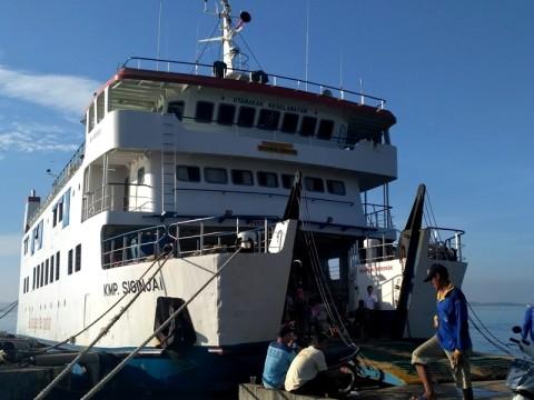 Kapasitas Penumpang Kapal Penyeberangan Jepara Ditambah