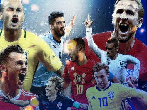 Fakta Menarik 16 Besar Piala Dunia 2018 Dalam Angka