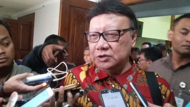 Menteri Dalam Negeri Tjahjo Kumolo/Medcom.id/Ahmad Mustaqim