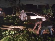 Badai Landa Medan, 5 Rumah dan 9 Mobil Rusak
