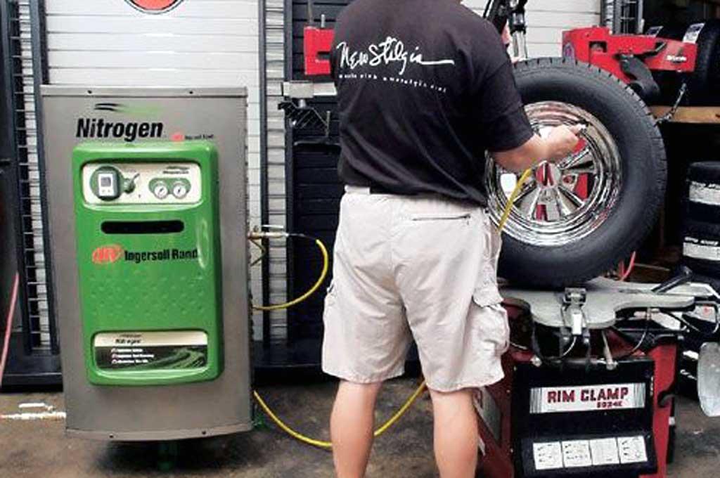 Penggunaan gas nitrogen bikin kerja ban lebih optimal. Car News