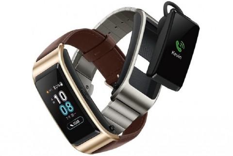 Gambar Huawei TalkBand B5 beredar menampilkan sejumlah fungsi