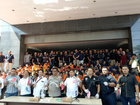 Polda Metro Tangkap 387 Orang dalam 3 Hari