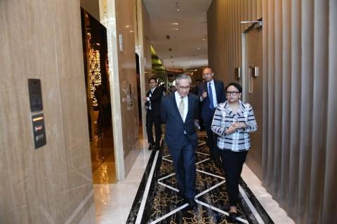 Menteri Luar Negeri Retno Marsudi melakukan pertemuan JCM ke-9