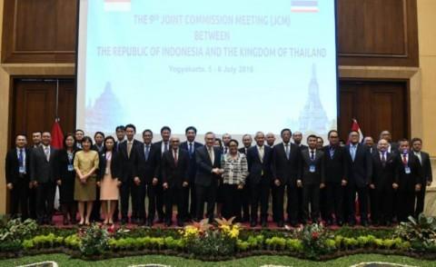 Pertemuan JCM ke-9 antara Indonesia dan Thailand di Yogyakarta 6