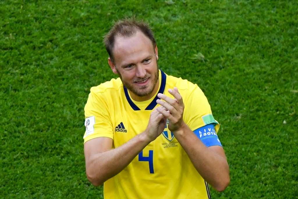 Andreas Granqvist (Foto: AFP PHOTO / GABRIEL BOUYS)
