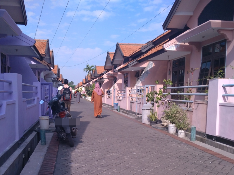 'Kampung  janda' Desa Gempeng, Kecamatan Bangil, Pasuruan, Jawa Timur. Medcom.id/Syaihul Hadi