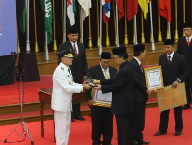 Ilustrasi--Menteri Dalam Negeri Tjahjo Kumolo telah melantik Sestama Lemhanas Komjen M Iriawan sebagai Pj Gubernur Jawa Barat--Medcom.id/M Sholahadhin Azhar.