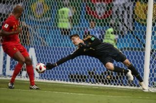 Rapor Pemain Brasil vs Belgia, Courtois Paling Bersinar