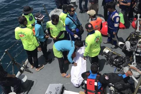 Korban Tewas Kapal Terbalik di Phuket jadi 37 Orang