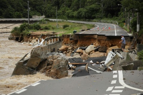 Banjir Bandang di Jepang Tewaskan 15 Orang