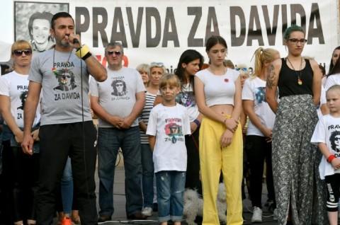 Keluarga dari Dragicevic berada di garda terdepan dalam protes