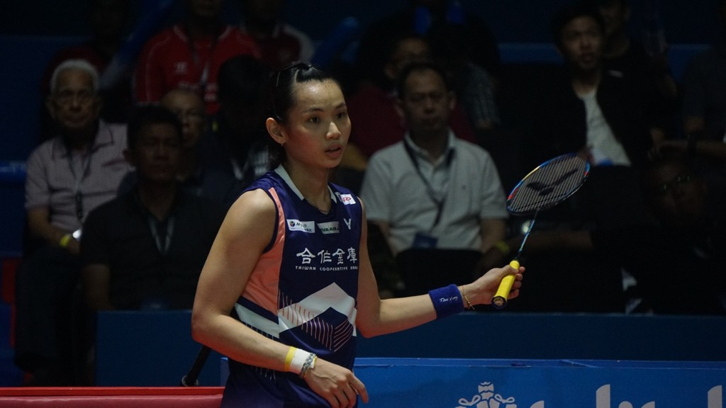 Tunggal putri Taiwan, Tai Tzu Ying. (Foto: Medcom/Kautsar)