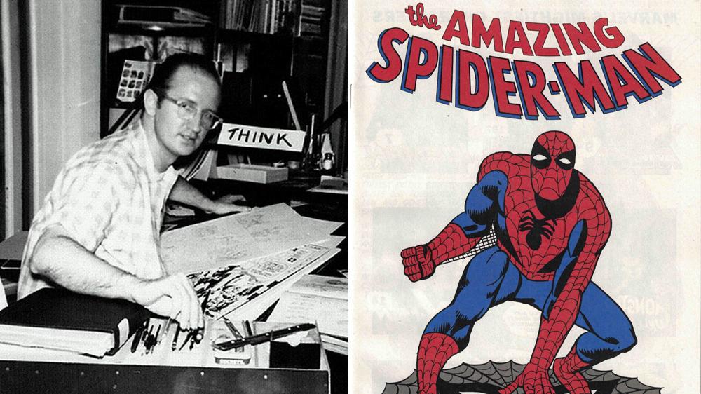 Ditko ikut membantu terciptanya Spider-Man. (Marvel Comics)