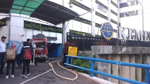 Korban Tewas Kebakaran Gedung Kemenhub Bertambah