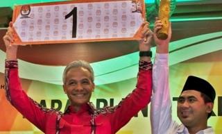 Ganjar-Yasin Unggul di Rekapitulasi Sementara KPU Jateng