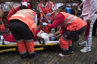 Lima Orang Terluka dalam Festival Banteng Pamplona