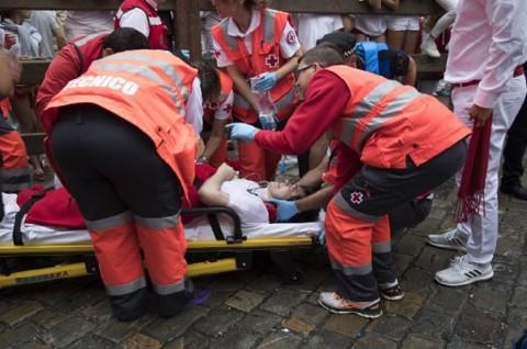 Rata-rata puluhan hingga ratusan orang terluka dalam Festival